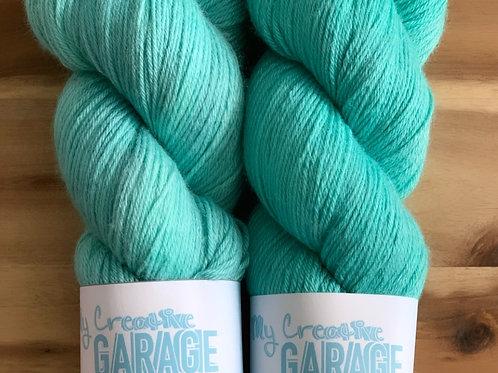 Tiffany Blue- Merino Wool /Silk