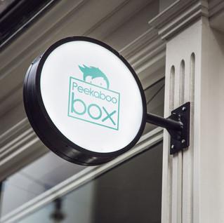 Peekaboo Box Branding