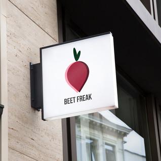 Beet Freak Branding