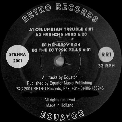 DJ Equator ‎– Columbian Trouble EP