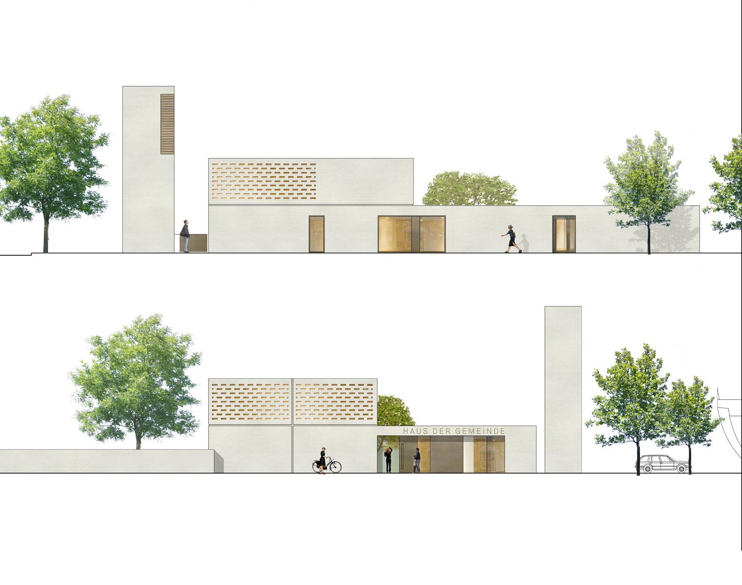 Dreibund architekten 290 kirchenzentrum homberg - Dreibund architekten ...