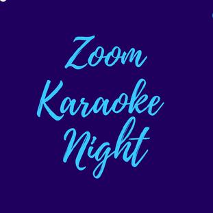 November Zoom Karaoke