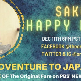 Sake Happy Hour, hosted by The Original Fare
