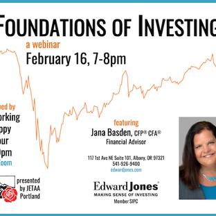 Foundations of Investing - Webinar