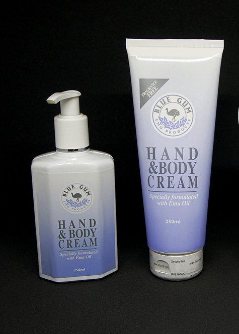 Hand & Body Cream 250ml