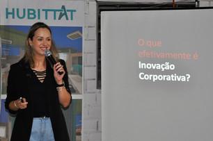 """O HUBITTAT promoveu a palestra """"Transformando inovação em resultados"""" na última sexta (31), durante o STE Talks – momento de conversa sob..."""