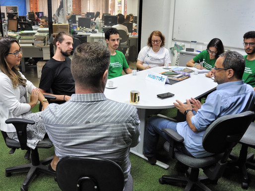 ONG Engenheiros Sem Fronteiras visita o HUBITTAT