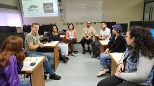 """A oficina """"Introdução ao audiovisual aplicado à Biologia"""" aconteceu na manhã de hoje (14), dando continuidade ao primeiro projeto do..."""