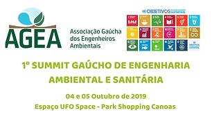 Estamos apoiando o 1º SUMMIT GAÚCHO DE ENGENHARIA AMBIENTAL E SANITÁRIA, que será um momento ímpar para reunir, agregar e trocar...
