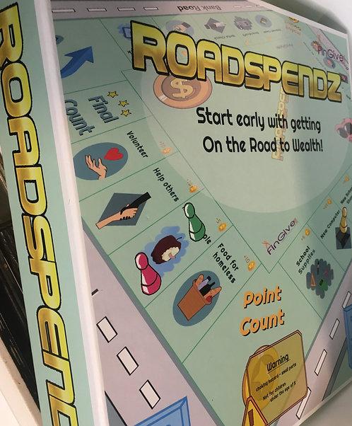 FinGive - RoadSpendZ board game