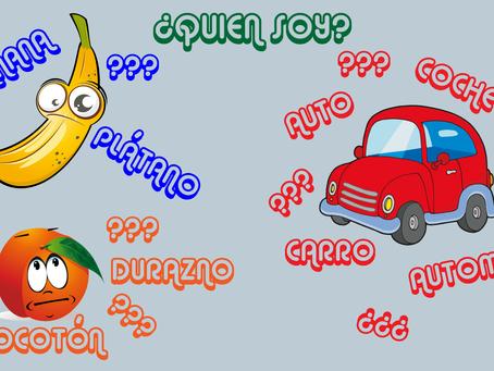 Actividad: Palabras diferentes en España y Hispanoamérica