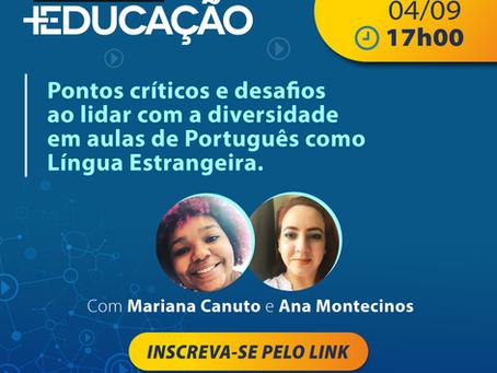 Pontos críticos e desafios ao lidar com a diversidade em aulas de Português como Língua Estrangeira