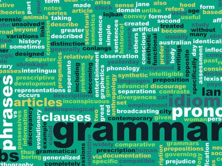 Cinco passos para uma aula de idiomas com foco em gramática