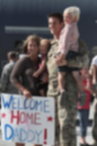 military welcome home