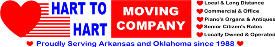 Hart to Hart Moving Company Logo