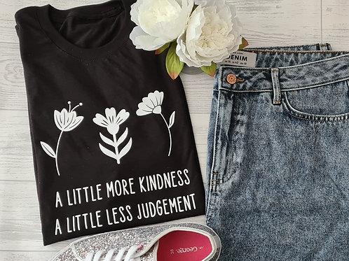 A little less judgement