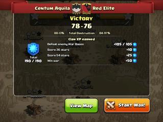Centum Aquila wins against Red Elite!
