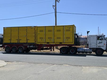 Dangerous Goods Container Arrival