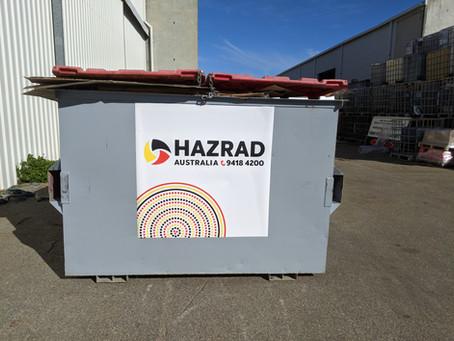 HazRad Frontlift Bins