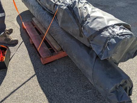 Contaminated Coal Tar Pipes
