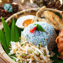 Kelantanese Nasi Kerabu