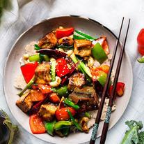 KungPow Tofu Bowl