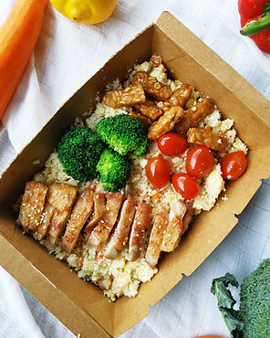 Food delivery PJ, food delivery KL, healthy food delivery, Cauliflower rice
