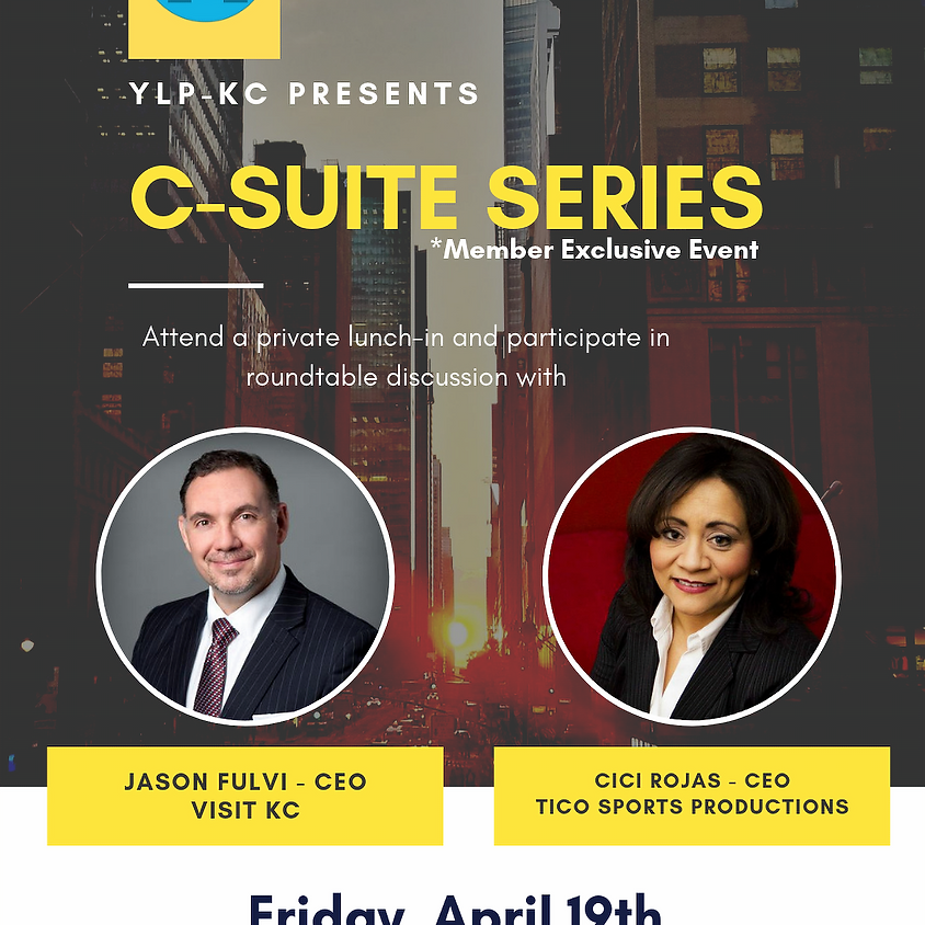 C Suite Series- Navigate to the Top!