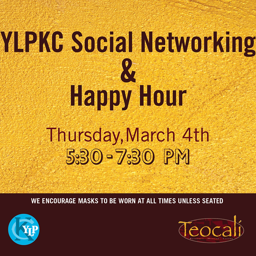 YLPKC Social Networking & Happy Hour