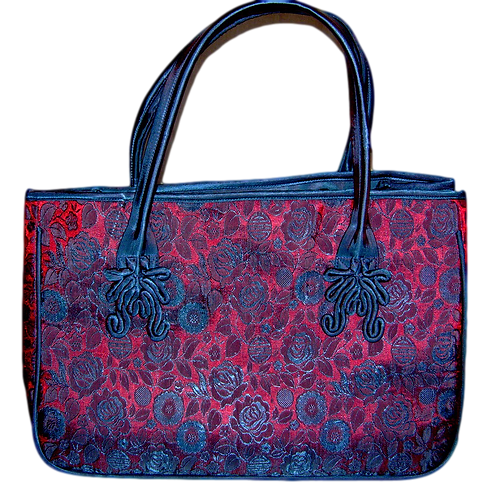 Satchel Silk Bag