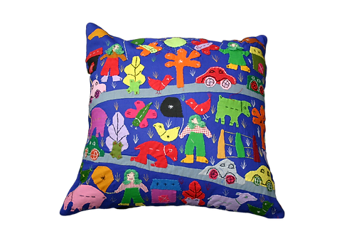 Child's Appliqué Cushion Covers