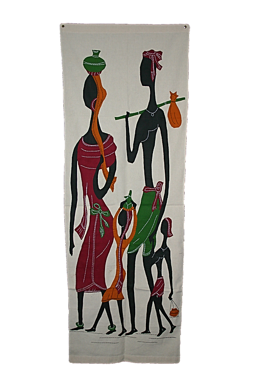 Applique Wall Hanging - Family