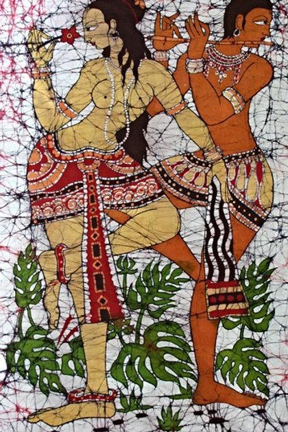 Batik Wall Hanging - Venus