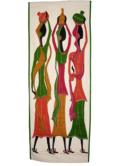 Applique Wall Hanging - Three Women