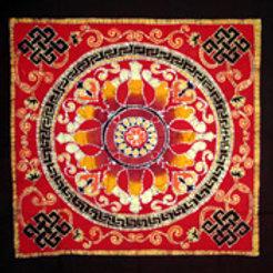 Batik - Mandala Chakra Red