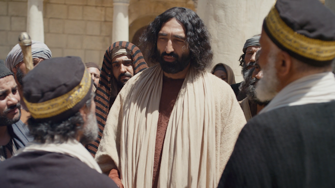 FILM: The Gospel of Mark in Koine Greek - LUMO Project || Chapter 12