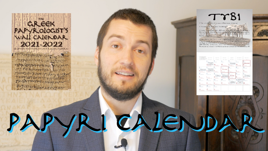 The Greek Papyrologist's Wall Calendar: Keep time like the authors of the ancient Greek papyri!