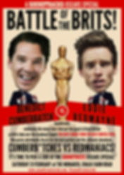 ST oscars 2015 Battle of the Brits poste