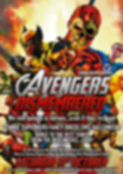 Avengers Dismembered Monarch poster 300d