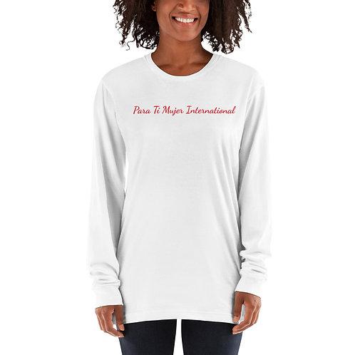 Camiseta de manga larga (unisex)