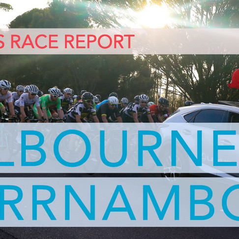 Race Report   Melbourne To Warrnambool 2019