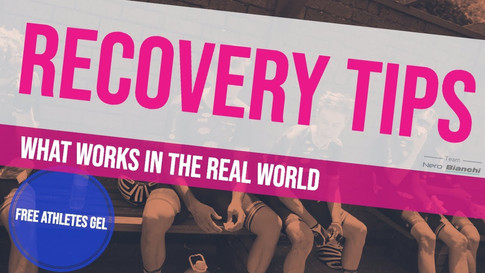 Cycling Recovery Tips & Basics - Sleep, Nutrition, Recovery, Muscle Soreness, Food Plan Riding