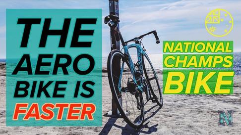 The Aero Bike is Faster