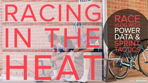 Racing In The Heat - RACE VLOG featuring Power Data and Sprint Fail