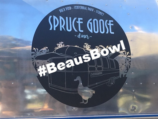 #BEAUSBOWL   THE SPRUCE GOOSE