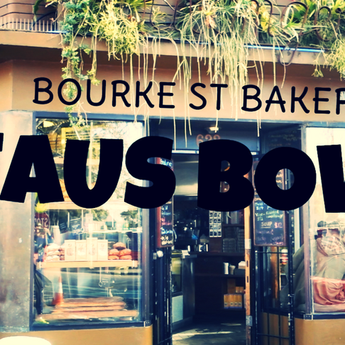 BEAUS BOWL | BOURKE ST BAKERY
