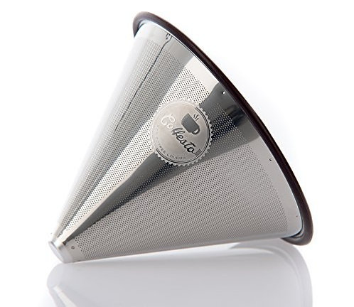 Pour Over Coffee Filter | Stainless Steel | Cone Dipper