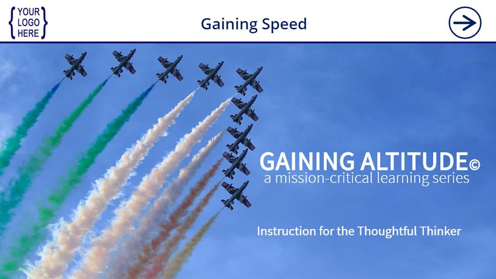 Gaining Speed eCourse