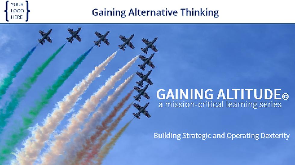 Gaining Alternative Thinking eCourse