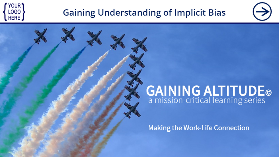 Gaining Understanding of Implicit Bias eCourse